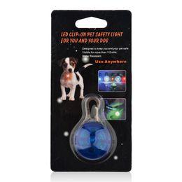 Wholesale Dog Trinkets - Dogs Glowing Collars Pet Dog Pendants Flashing Led Collar Luminous Accessories Para Cachorro Trinkets For Animals