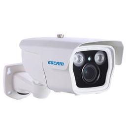 "Wholesale Ip Camera Dhl - ESCAM Q1039 1 2.5"" CMOS HD 1080P Onvif 3-12mm 4X Auto Zoom 40M IR Range P2P Waterproof Home Outdoor Security IP Camera CCTV Free DHL"