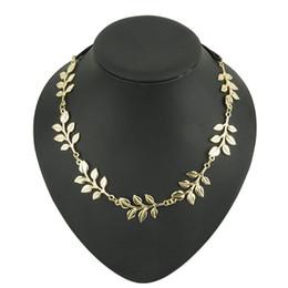 Moda estilo quente faixa de cabelo dama de ouro folha de oliveira headband cabeça parte da cadeia folhas de ouro faixa elástica faixa de cabeça de