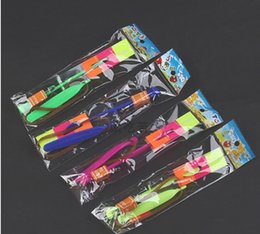 Wholesale Toy Rocket Parachute - Wholesale-DHL Free shipping Flashing LED Arrows, Arrows flying toy ,rocket parachute, fairy mushroom ,1200 pcs   lot