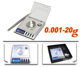 Escala de recarga online-Escalas de gramo de escala digital de 20 x 0,001 g Granos de quilate Reload Jewelry Milligram