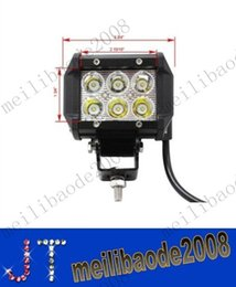 """Wholesale tractor 4wd - 4"""" inch 18W Cree LED Work Light Bar Lamp for Motorcycle Tractor Boat Off Road 4WD 4x4 Truck SUV ATV Spot Flood 12v 24v MYY10420A"""