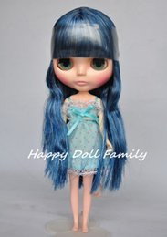 """Wholesale Nude Dolls Small - Wholesale-12"""" nude doll,black-blue hair, small defective doll"""