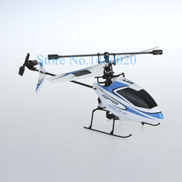 Wholesale V911 Rc Helicopter Upgrades - Wholesale-High Quality Upgrade metal aluminum V911 2.4G 4CH RC MINI Helicopter Single Blade Propellor Gyro Mini Radio RC Helicopter BNF