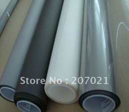 Wholesale Transparent Projection Screens - Wholesale-Hot sale!!! Transparent film color Holography Adhesive Rear Projection Screen Foil for Glass