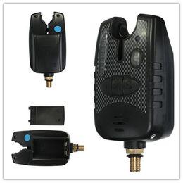 Wholesale Carp Alarms - NEW Fishing Bite Alarm Finder Fishing Bite Indicator with 8 LED for Carp Fishing rods order<$18no track