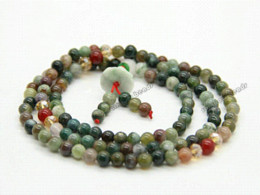 Wholesale Natural Jade Beads Prayer - Wholesale Buddhist 108 beads Religeous Colorful Natural Jade Meditation Prayer Beads Mala, Exquisite stone bracelet bead bracelets for girls