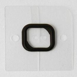 Junta de iphone online-Al por mayor-10X pad Home Button Holder Junta de goma engomada de la pieza de repuesto para iPhone 5s