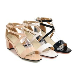 Wholesale Shoes Sex White - sex high heel women sandals block heel sandals shoes women