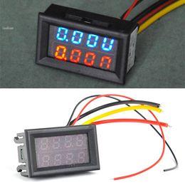 Wholesale Digital Dc Current Voltage Panel - NEW!!DC 0V-100V Led Volt Amp Meter Voltage Meter Current Meter Ampere Panel Meter Voltmeter Ammeter Digital