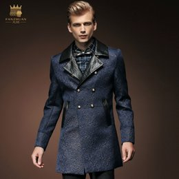 Dropshipping Mens Designer Pea Coats UK | Free UK Delivery on Mens ...