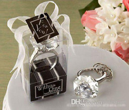 """Wholesale Key Chains Diamond Ring - With This Ring"""" Engagement Ring Key Chain, Novelty Giant Diamond Keychain, FREE Shipping"""