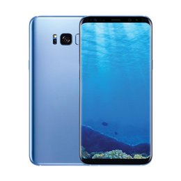 Wholesale New 4g Phones - New 6.2 inch Full Screen goophone S8 S8 plus clone phone Quad core 1GB RAM 4GB ROM shown 4G LTE android smartphone