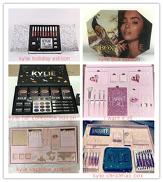 Wholesale High Quality Makeup Brushes Wholesale - new Kylie Jenner Cosmetics 4pcs Pink Set or kylie vacation bi I Want It All Birthday Collection Limited Edition Makeup Brushes High Quality.