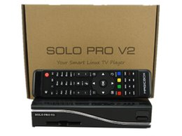 Wholesale Hd Satellite Receiver Vu - Wholesale-fedex free shipping Solo Pro Satellite Receiver Linux System Enigma 2 Mini VU+ Solo with CA card sharing Youtube IPTV 5pcs