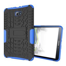Canada Pour Samsung T580 Cas En Plastique Dur TPU Combo Armure Support Housse De Protection Pour Samsung Galaxy Tab A 10.1 T580 SM-T585 Offre