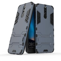 Wholesale Nova Pc - For Huawei Nova 2i Hybrid TPU+PC Shockproof anti-knock protector cover Iron Man Case For Huawei Honor 9i Cover Coque Fundas