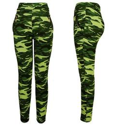 Wholesale Military Leggings - 2015 Women's Army Commando Military Print Camouflage Jeggings Leggings ONE SIZE