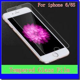 протектор экрана samsung mega Скидка Для iphone 6 / 6Plus 6S / 6SPlus 5 / 5S/5c 4 / 4S передняя закаленное стекло-Экран протектор фильм