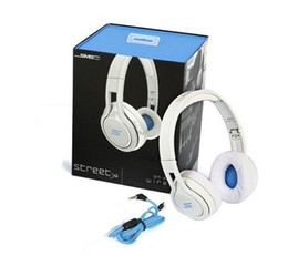 Wholesale Sms Sync Street - Free ship SMS Audio SYNC Wired STREET by 50 Cent Headphones Over-Ear Wired Headphones Fashion Music Headphone Portable 3.5mm Earphone