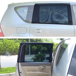 Wholesale Car Rear Window Sunshade - TFY Universal Car Rear Side-Door Square-Window Sunshades - For vehicles with side windows 31.5'' - 47'' W x 23'' H (Large Window)