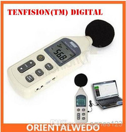 Wholesale Sound Pressure Meter - Tenfision(TM) Digital Sound Pressure Level Meter 30 ~ 130 dB Decibel USB Noise Measurement With SD Memory Card top sale latest Free Shipping
