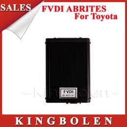 Wholesale Avdi Toyota - High Quality AVDI FVDI ABRITES Commander For Toyota Lexus With Free Hyundai Kia Tag Key Tool Software