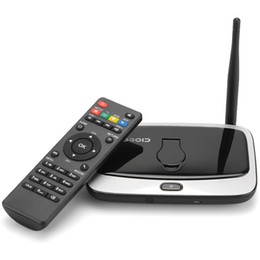 Wholesale Android Media Player Camera - High quality Android 4.4 TV BOX Q7S RK3188T Quad-core 2GB 8GB Bluetooth H.264 smart media player with 2MP Camera