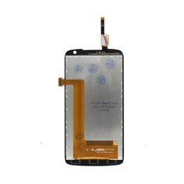Wholesale Lenovo Digitizer Glass - Wholesale-For Lenovo S820 Display Screen LCD Assembly With Digitizer Glass No Dead Pixel AAA Quality Free Shipping
