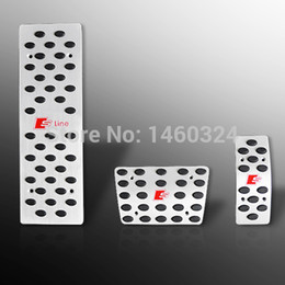 a5 a4 Coupons - Aluminium Alloy accelerator pedal brake pedal AT Foot Pedals Rest FOR A4 B6 B7 B8 A5 A6 C5 C6 C7 A7 A8 Q5