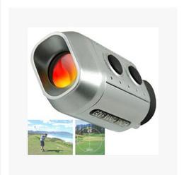 Wholesale Range Finder Laser - Golf rangefinder 7x18 Mini Digital Golf Laser Rangefinder Portable Scope Monocular Range Finder Pocket Size Optical Telescope Distance Mete