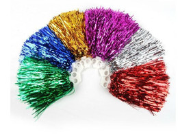 Wholesale Cheer Horns - Free Shipping.Pompom,Cheering pompom,Metalic pom pom,Cheerleading products,20G,7 colours