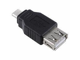 Wholesale Micro Usb Female Adaptor - 1 PCS USB 2.0 A to Micro B Female   Male Adaptor
