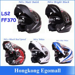 Wholesale Bags Xl - 100% Genuine New Helmet LS2 FF370 Motocross Helmet Motorcycle LS2 Helmet Double Lens FF370 Latest Version Have Bag H2876