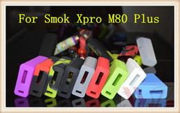 Smok xpro online-2016 Funda de silicona Bolsa de silicona Caja de goma colorida Cubierta protectora Cubierta protectora colorida para Smoktech Smok x pro xpro m80 más Caja Mod