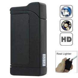 Wholesale Spy Camera Real Lighter - F4 720P Mini DV Spy Hidden Lighter Camera Cam Video Recorder Real Lighter Covert Motion Detective