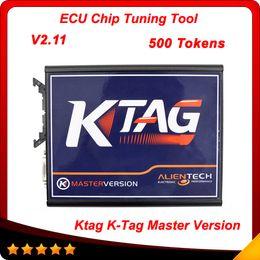 Wholesale Free Prog - 2015 K TAG ECU Programming Tool V2.11 Compatible Auto KTAG K-TAG ECU Prog Tool Master Version via 500 tokens free shipping