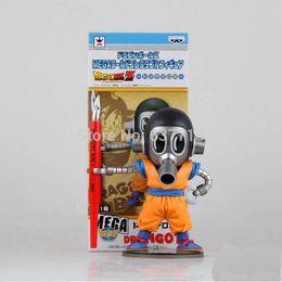 "Wholesale Banpresto Figure - Banpresto Dragon Ball Z MEGA WCF 2 Akira Toriyama Son Goku Cloth Action Figure Toy 5"" 15CM 1206#06"
