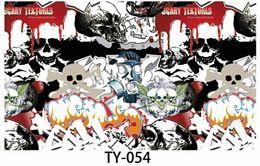Wholesale Sticker Bombing Mirrors - 3000X150CM Roll JDM Skull Pattern Cartoon Graffiti Car Sticker Bomb Wrap Large Sheet Decal Brand New