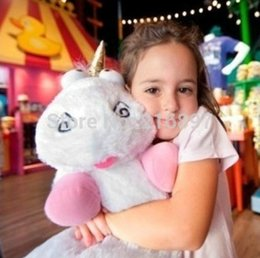 Wholesale Minion Unicorn Stuff Toy - Wholesale-Big Size 60CM & 45cm Despicable ME Unicorn Very Big Movie Plush Toy 24Inch Minions Dolls & Accessories stuffed animals