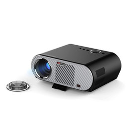 Wholesale Hd Video Movies - Wholesale- Vivibright GP90 GP90UP Lcd Projector Full HD Projector Home Theater Proyector 3200 Lumen 1280x800 Movie Cinema USB Video Beamer