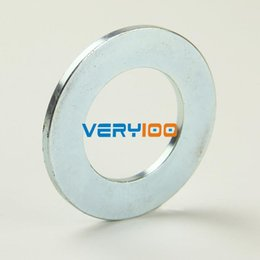 Wholesale Disc Magnet Hole - 1PC Big Super Strong Countersunk Ring Magnets Disc 50mm x 3mm Hole 28mm Rare Earth Neodymium N35 Free Shipping! order<$18no track