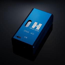 2019 dna box Hana DNA 40 DNA 40 Box MOD Temperaturregelung Version DNA 40 Box Mod Einstellbare Leistung 1,0 Watt-40 Watt PK Cloupor T5 T6 T8 Gott 180 MOD günstig dna box