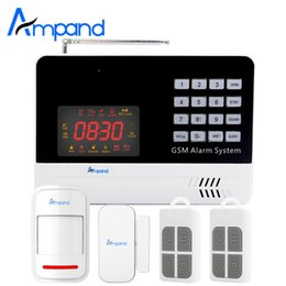 Wholesale Auto Dialer Wireless Home Security - New Digital Wireless wired APP Control Anti-theft Home Security Burglar GSM Alarm System Auto Dialer SMS Telephone Check Balance