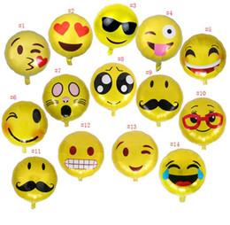 2019 caixas de organza cadeira para casamentos Folha De Emoji Balões De Hélio De Alumínio Balões de Decoração Do Partido Balão De Casamento Inflável Festa De Aniversário Balões Decorações