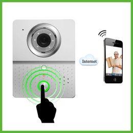 Wholesale Door Phone Bell Intercom System - Wireless WiFi Doorbell Camera Video Door Phone Intercom Camera Mobile Smart Phone Control Visual Phone Door Bell Intercom System