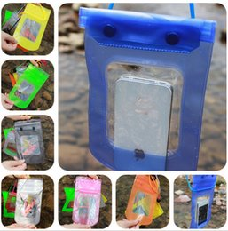 Wholesale Waterproof For Galaxy S3 - Waterproof Phone Bag 23*11cm swimming phone bags Swim Diving Pouch Bag case For iPhone 4 4S 5 5S 6 Plus Samsung Galaxy S6 S3 S4 S5 D329 50