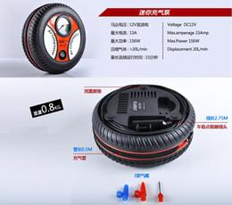 Wholesale Car Tire Electric Air Pump - Household mini inflatable pump. Car insurance tire pump 19 cylinder 12V. Car Air Pump Electric Inflator 24pcs a bag
