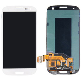 Wholesale Galaxy S3 I747 Lcd White - Wholesale-Generic Full Lcd Display Touch Digitizer Glass Compatible For Samsung Galaxy S3 T999 i747 L710 i535 i9300 R530 White