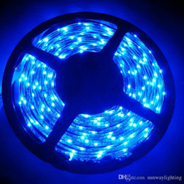 Wholesale glue led strip - NEW RGB COLOR SMD 335 LED Strip Light DC12V 5M Glue Waterproof IP65 120leds m 600leds Totally Side Emitting Lighting